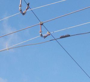 Видео обрыва троллейбусных проводов попало в сеть