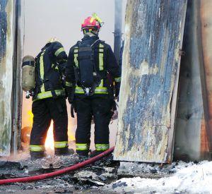 В сгоревшем доме спасатели обнаружили тело мужчины