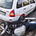 В Смоленске на проспекте Гагарина сбили мотоциклиста