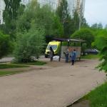 В Смоленске на остановке общественного транспорта обнаружили труп пожилого мужчины