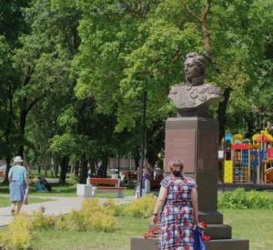 В Заднепровском районе открыли памятник Кутузову