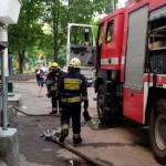 В Смоленске 19 спасателей тушили пожар в многоквартирном жилом доме