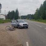 В Смоленской области в жестком ДТП пострадал 60-летний велосипедист