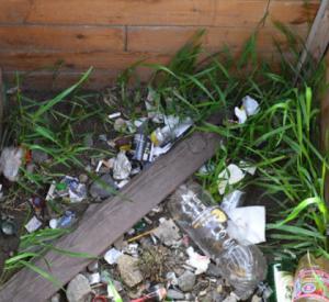 Жители Смоленской области превратили колодец в помойку