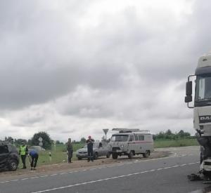 В Смоленской области попал в аварию бензовоз
