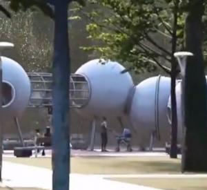 Смолянам показали новый проект благоустройства сквера имени Гагарина (видео)