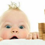 В России увеличат детское пособие