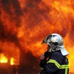 Пожарные тушат серьезный пожар (ВИДЕО)