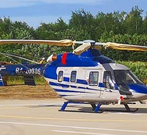 В Смоленской области начала работу служба санитарной авиации