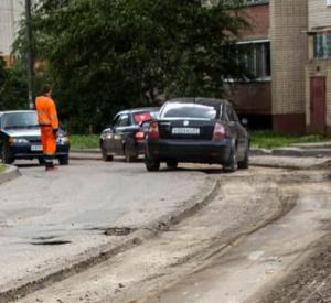 В областном центре начался ремонт улицы Маршала Соколовского