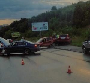 Последствия массовой аварии на Волоке сняли на видео