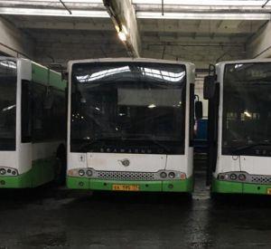 В Смоленск привезли последнюю партию московских автобусов