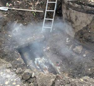Очередной прорыв теплотрассы оставил смолян без отопления