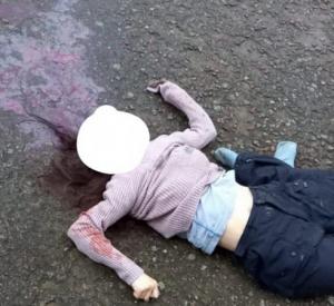 Под Смоленском у подъезда дома обнаружили искорёженный труп женщины (фото+подробности)
