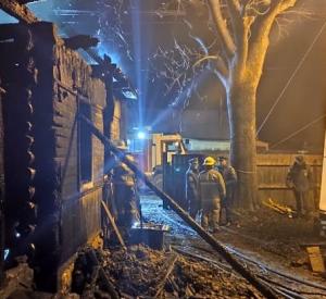 Трагедия в Ельне. При пожаре погибли семь человек. Пять из них — дети (фото)
