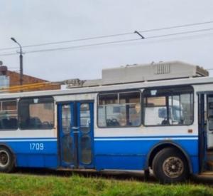 В Смоленск приехали столичные троллейбусы