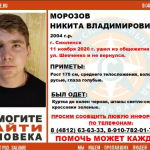 В Смоленске бесследно исчез 16-летний подросток