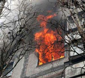 Пожилой мужчина пострадал при пожаре