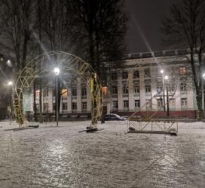 Ещё один новогодний арт-объект украсит улицы города