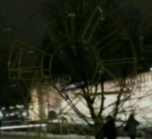 В Смоленске неожиданно погас один из новых арт-объектов