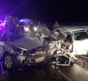 В страшном лобовом ДТП на окружной Смоленска погибли 6 человек (фото, видео)
