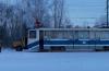 В областном центре на трамвай упал контактный провод