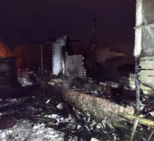 В смоленской деревне на месте пепелища найден труп