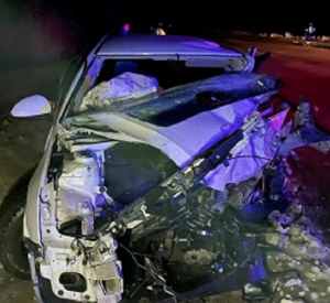 В сети появилось фото с места смертельной аварии, случившейся под Смоленском