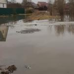 Фото: Под Смоленском из-за паводка затопило жилые дома