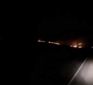 Видео: В Смоленской области огонь подобрался к жилым домам