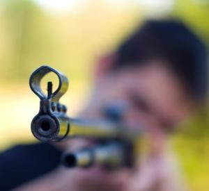 Неизвестные из пневматического оружия расстреляли машину смолянина