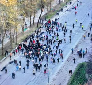 В Смоленске прошла акция в поддержку Навального