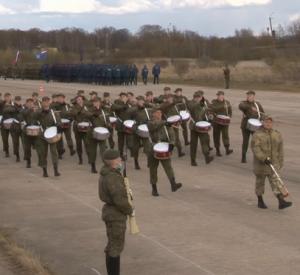 В Смоленске проводятся репитиции парада Победы