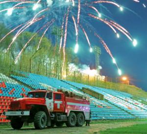 В Смоленской области праздничные салюты прошли без пожаров