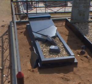 Видео: Смолянин, устроивший погром на кладбище, предстанет перед судом