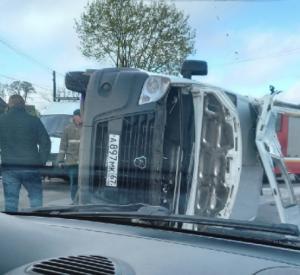 Шесть пассажиров госпитализированы. Подробности аварии с маршруткой в Смоленске