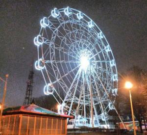 В Смоленске приостановили работу колеса обозрения
