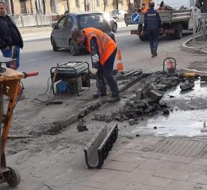 Губернатор Смоленской области отметил на недочёты реконструкции улицы Николаева (фото)