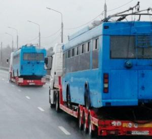 30 московских троллейбусов доставят в Смоленск (фото)