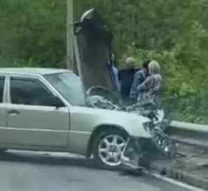 Подробности жёсткой аварии в Заднепровском районе