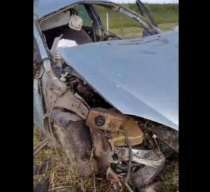 Видео: В Смоленской области два человека погибли в страшной дорожной аварии
