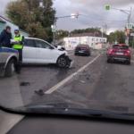 Момент страшной аварии на Витебском шоссе попал на видео