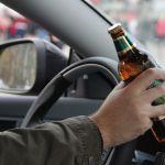 Очередной автомобилист попался пьяным за рулем