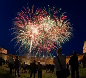 Вечернее небо Смоленска украсит фейерверк