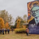 Под Смоленском завершили портрет знаменитого писателя-фантаста