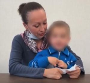 Мать с ребенком пряталась от французского мужа под Смоленском (видео)