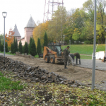 В Смоленске подрядную организацию заставили устранять недочеты благоустройства