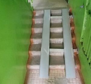 В Смоленске активисты ОНФ смогли добиться обустройства пандуса в доме для ребенка-инвалида