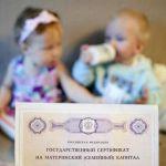 Министерство труда собирается отменить бумажный сертификат на маткапитал