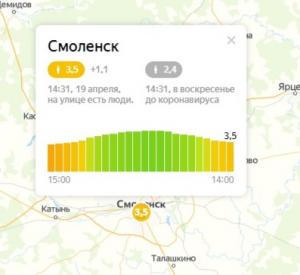 В Смоленской области вырос индекс самоизоляции